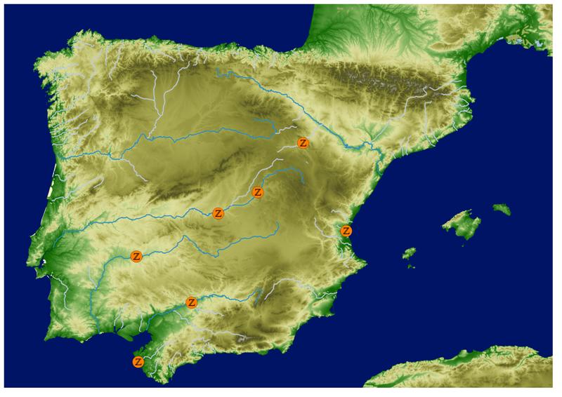 Kaart locaties