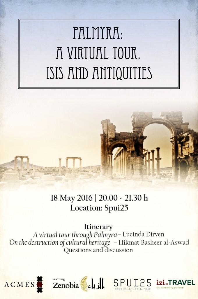 Palmyra poster itinerary